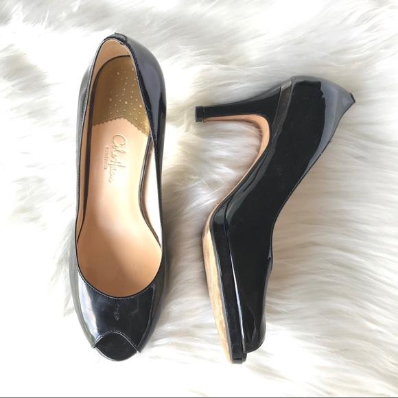caf3518d71d24 Cole Haan Shoes   Nike Air Carma Patent Peep Toe Pumps   Poshmark
